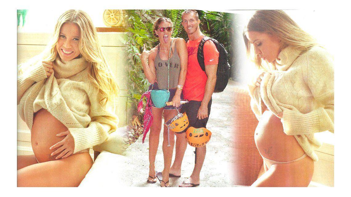 Dallys Ferreira vuelve a sonreír: Este embarazo es un milagro que me regala la vida