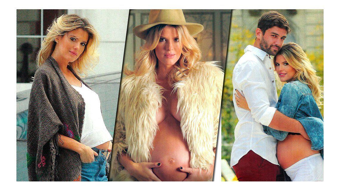 La producción del embarazo chic de María del Cerro: Es una nena y su nombre será Mila