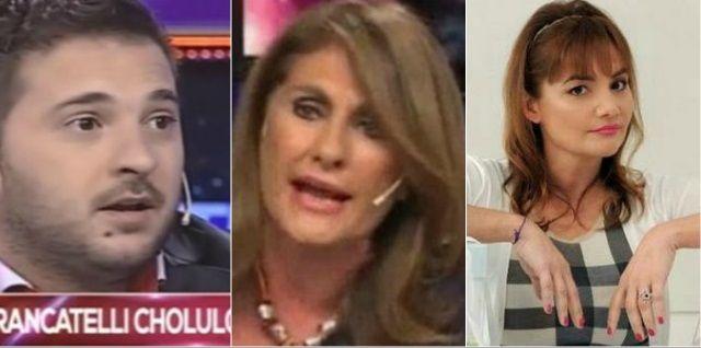 Silvia Fernández Barrio se cruzó con Brancatelli  en vivo y se metió Nancy Pazos
