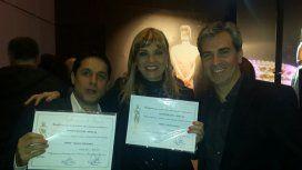 Los nominados de Radio 10 recibieron el diploma por el Martín Fierro
