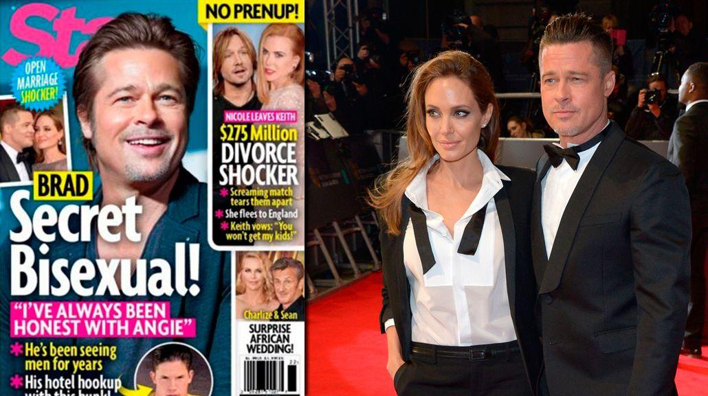 Brad Pitt sería bisexual y pagaría para estar con hombres