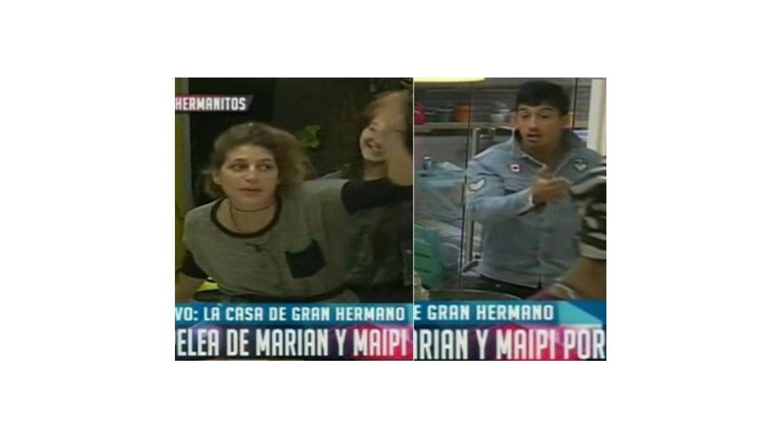 Fuerte cruce entre Marian y Nicolás por los ruidos molestos a la noche con Maipi: