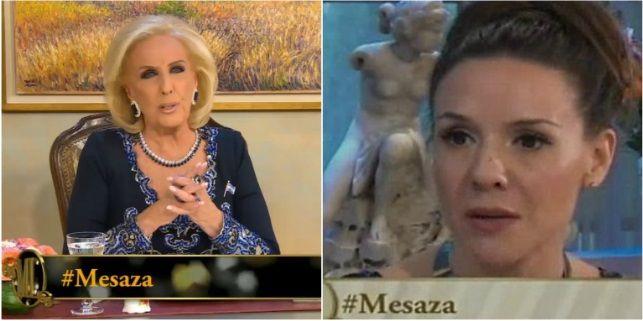 Mirtha Legrand le pidió disculpas a Laura Miller y apuntó contra los que la criticaron