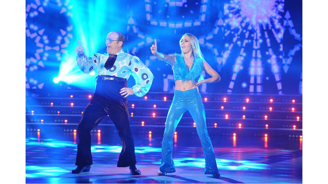 Noche perfecta para Campi: el humor imperdible de Jorge y la rompió bailando