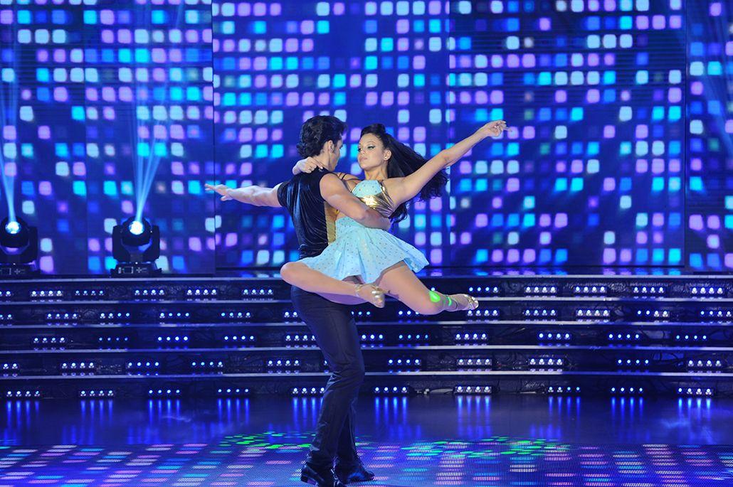 Barbie Vélez debutó en el Bailando y se cruzó con Ángel de Brito por Fede Bal y Augusto Shuster