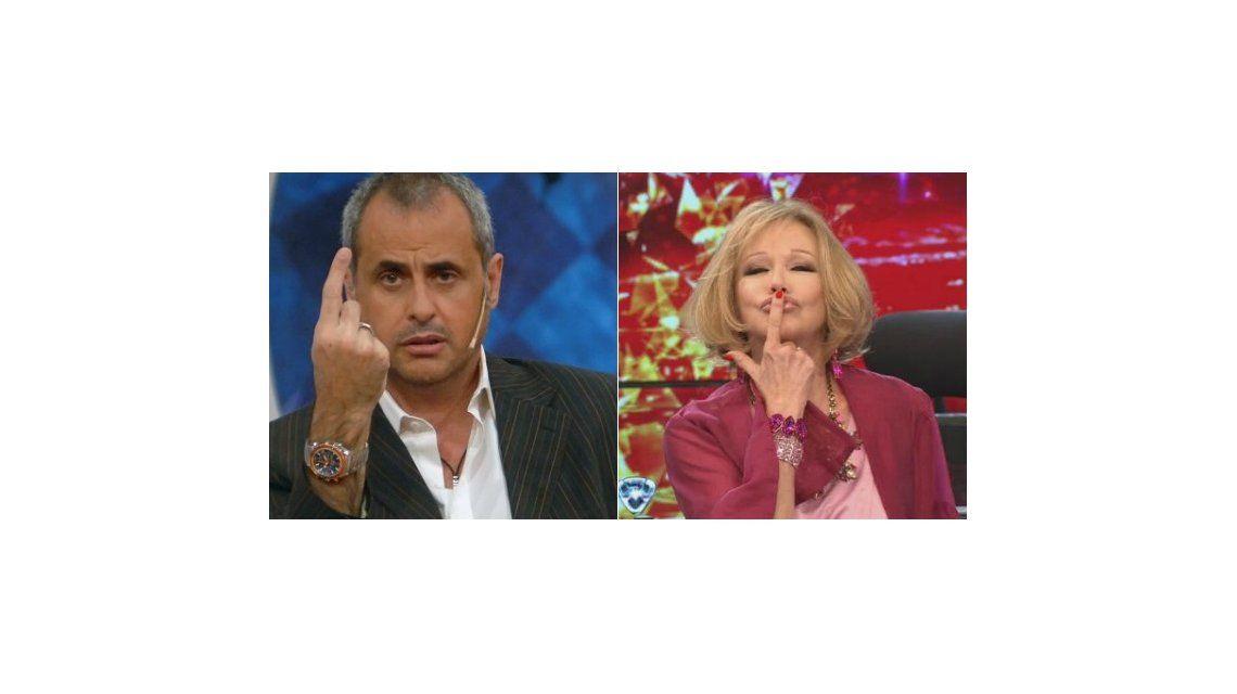 Jorge Rial vs Soledad Silveyra: indirectas y enojos en Twitter