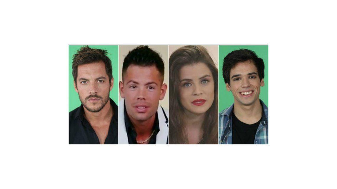 Cuatro nominados: Francisco, Mariano, Camila y Matías, en placa