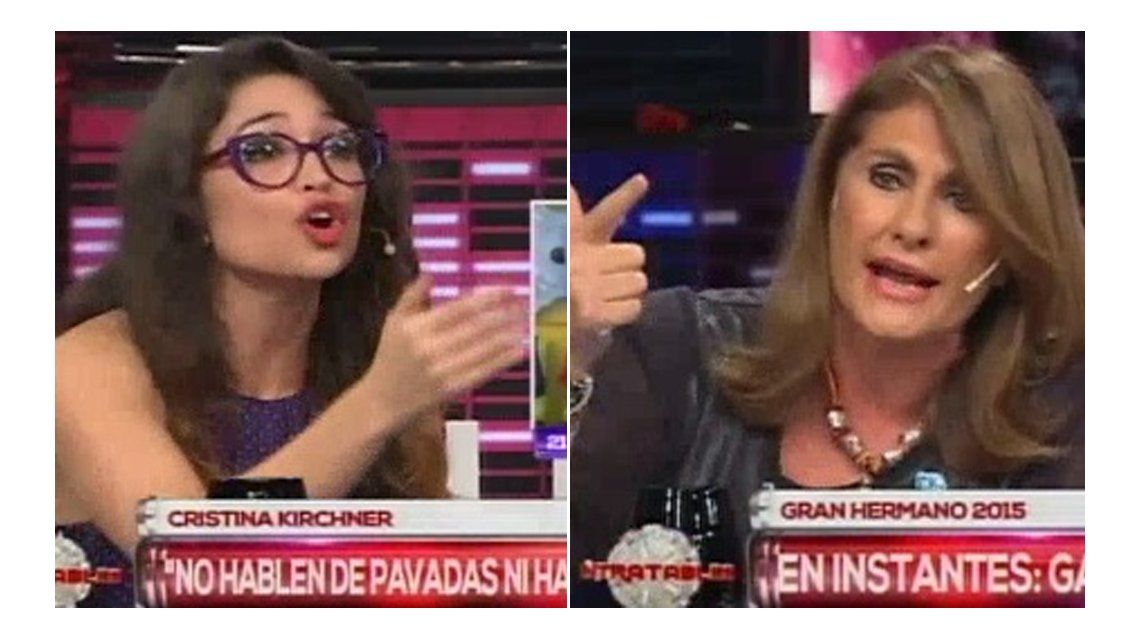 Intenso cruce entre Silvia Fernández Barrio y Julia Mengolini en Intratables