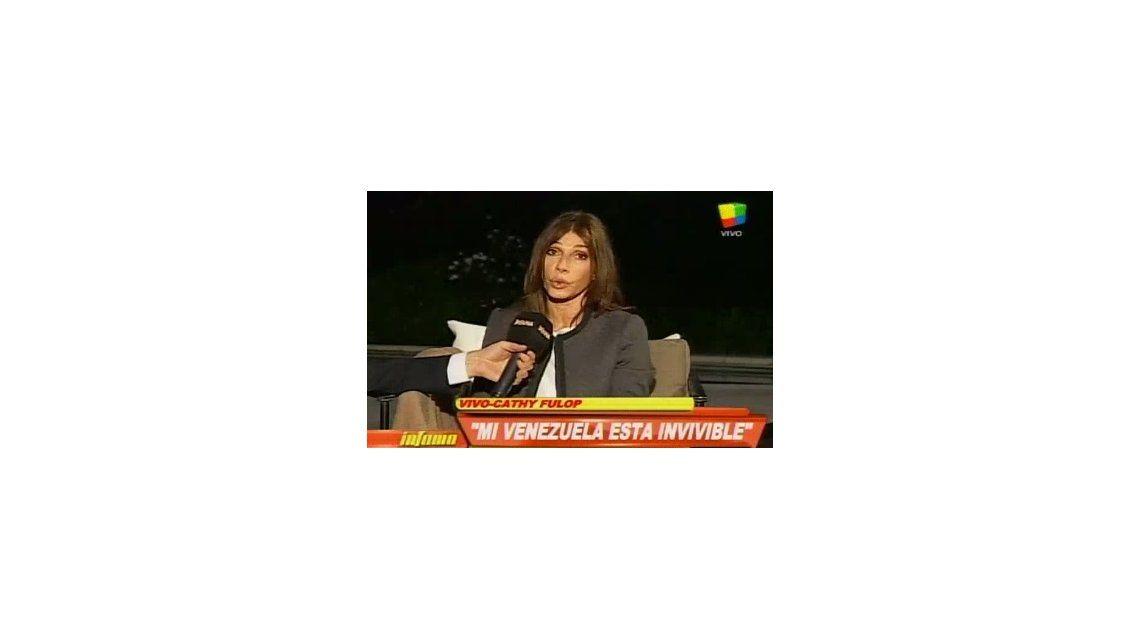 Catherine Fulop: Siento que mi Venezuela esta invivible
