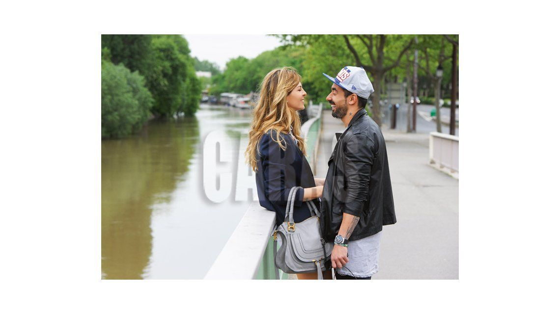 Pocho Lavezzi y Yanina Screpante festejan cinco años juntos: En Francia reavivamos nuestra relación