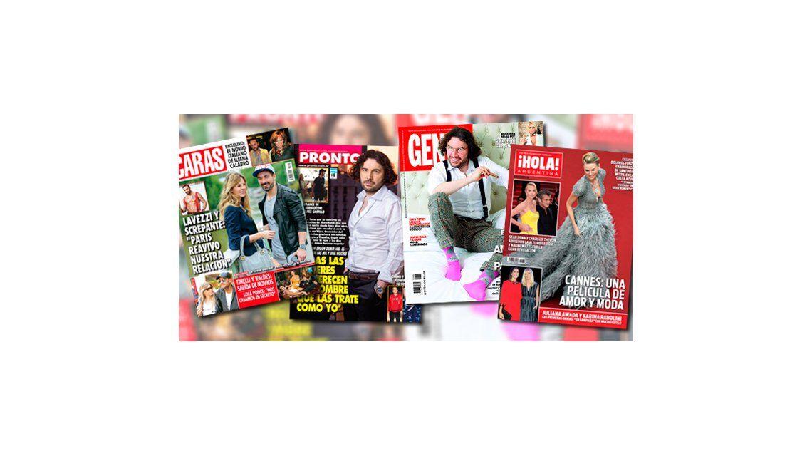 Mirá las tapas de revista de esta semana