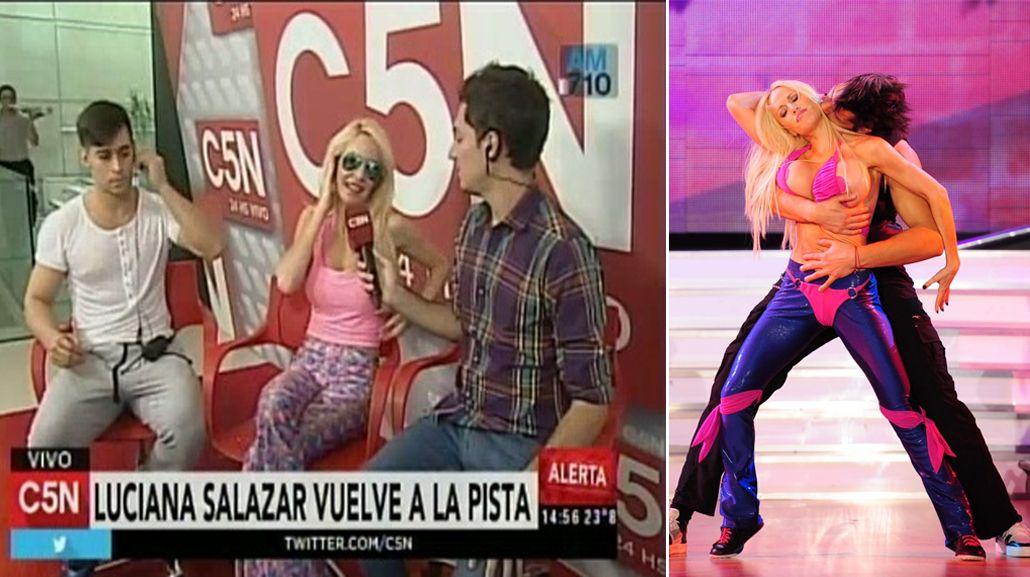 Luciana Salazar va por todo: La tercera es la vencida, espero llegar lejos