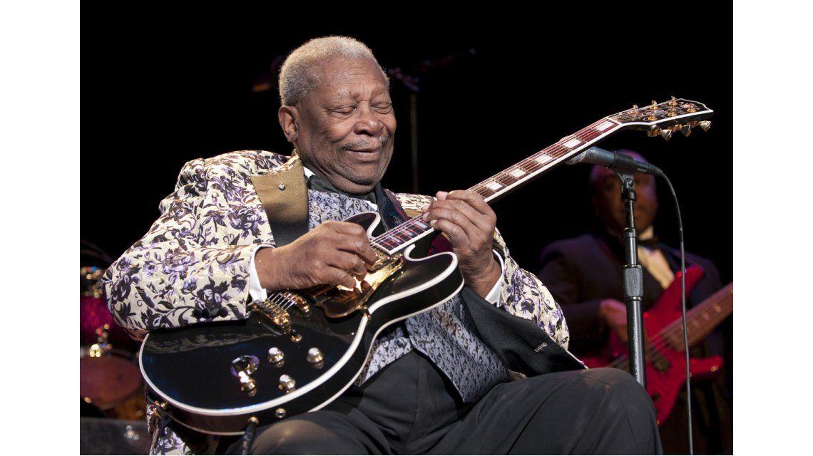 El blues está de luto: murió B.B. King