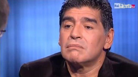 El video de Diego Maradona por el que va a juicio en Italia