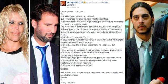 Nazarena Vélez, separada de Gonzalo Gamarra: carta de despedida y ¿un nuevo hombre?