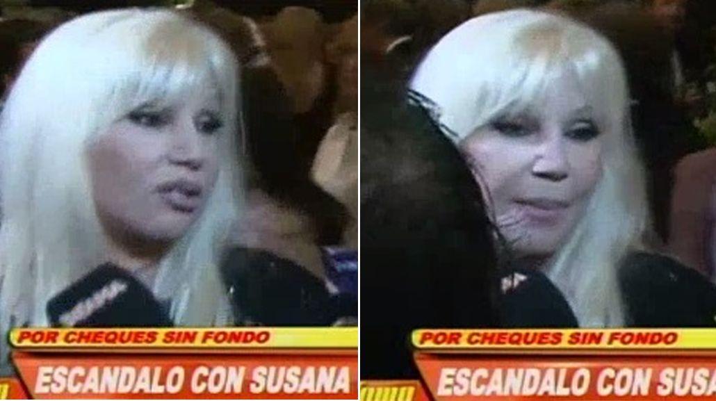 Susana Giménez volvió de Uruguay tras declarar como testigo en la causa contra el estudio contable