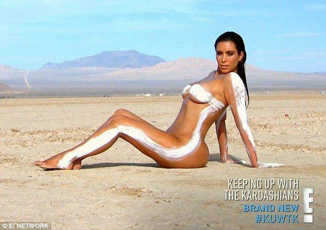 Con fotos mostrando su piel, Kim Kardashian confesó que padece psoriasis