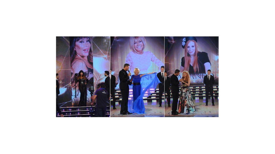 Los looks de las jurados de ShowMatch y el polémico vestido de Moria