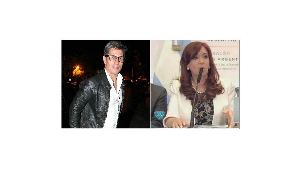 El Chato Prada contó quién es la nueva voz de la genial imitación a Cristina