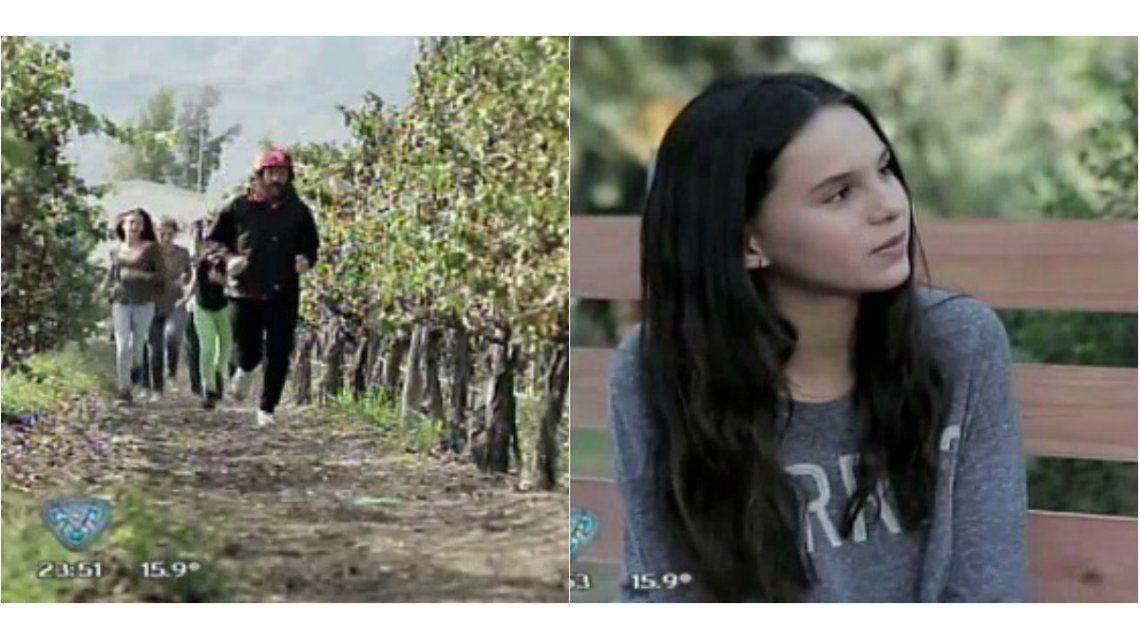 Marcelo Tinelli recorrió el país parodiando a Forrest Gump: emotivo cruce con su hija Juanita