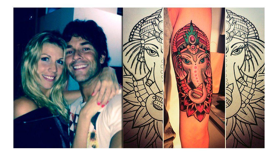 El impactante tatuaje de Juliana Giambroni, la esposa de Mariano Martínez