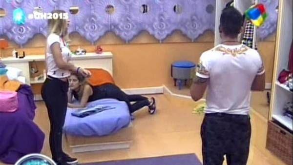 Se acabó la paz en GH: Mariano y Romina, en medio de una fuerte discusión, casi a las piñas