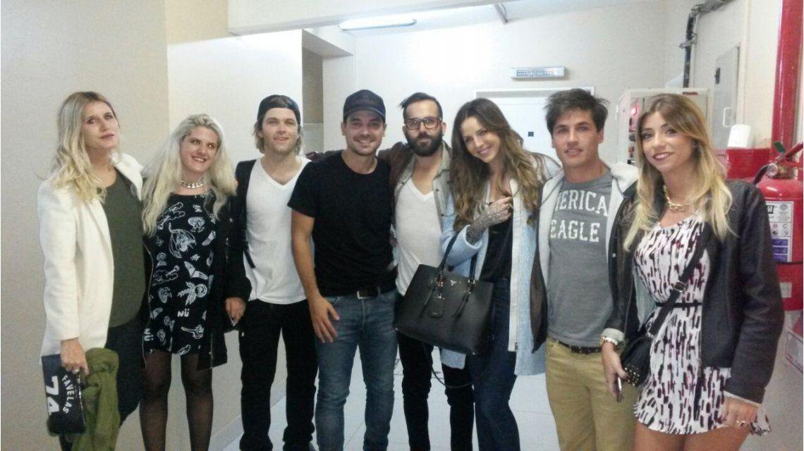 Mica Tinelli, Candelaria y Nacho Lecouna, invitados de lujo en Casa Fantasma