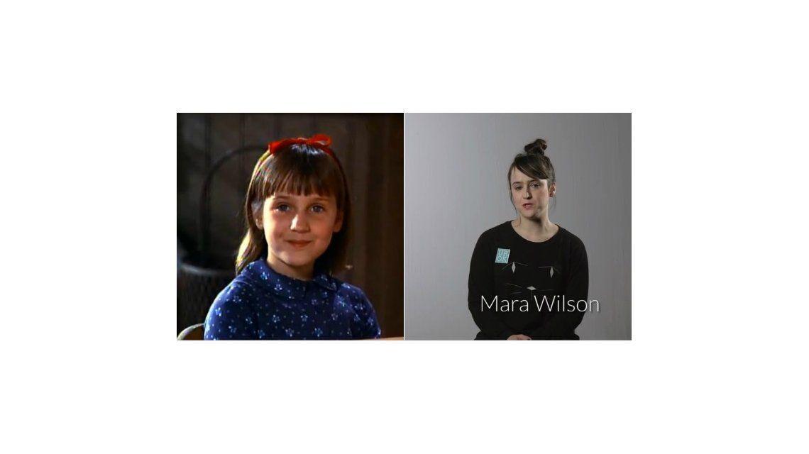 La protagonista de Matilda confesó su bisexualidad con una foto