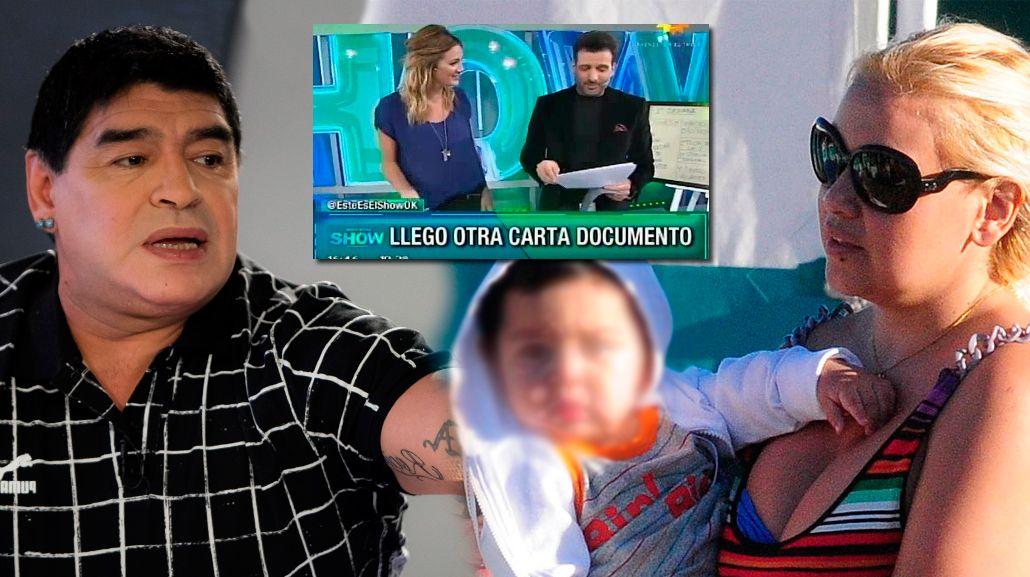 Diego Maradona lo logró: Verónica Ojeda no podrá nombrar ni mostrar a su hijo durante un año
