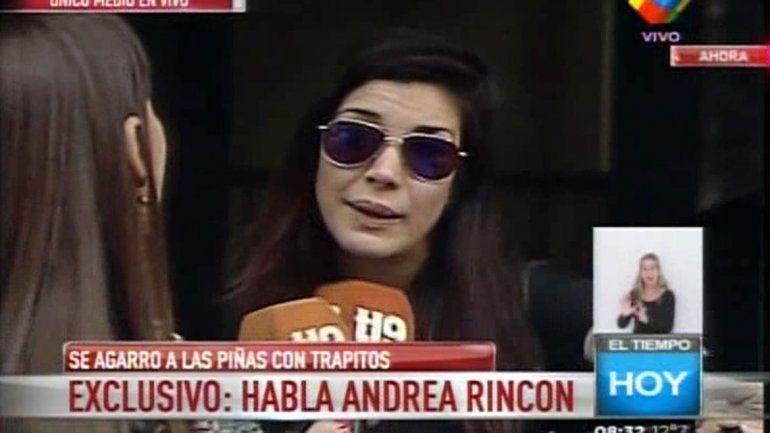Andrea Rincón y la agresión de los trapitos: Me amenazaron con un cuchillo