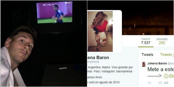 El superclásico en las redes: foto de Messi y un pedido especial de Jimena Barón