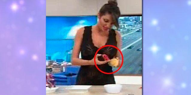 Vicky Xipolitakis, descontrolada, arremete contra Desayuno Americano