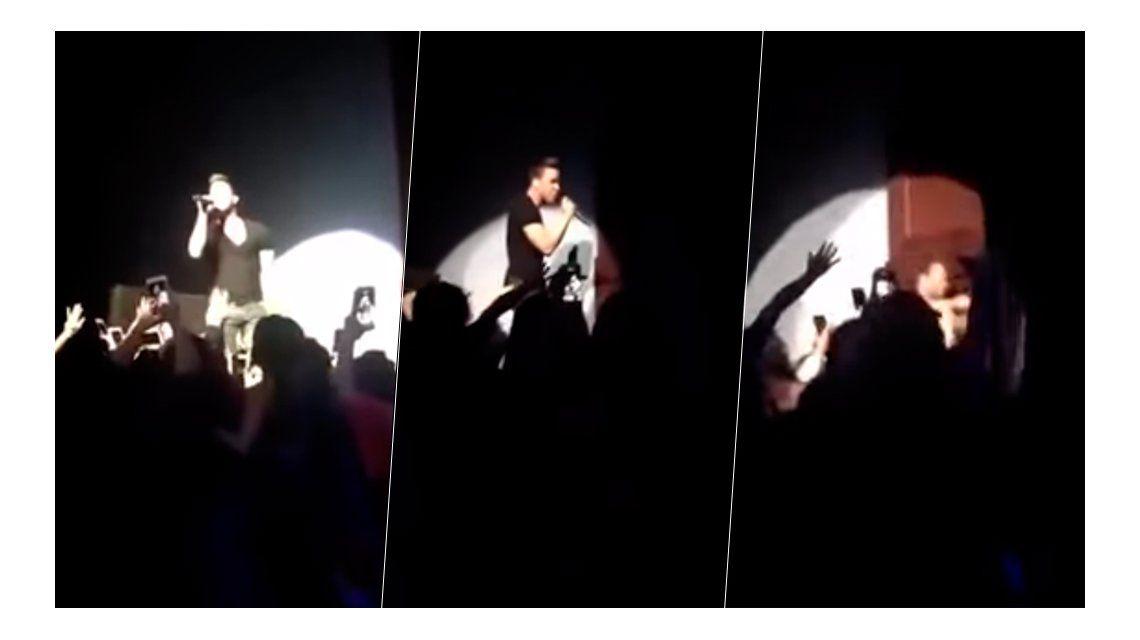 La increíble caída de Prince Royce en medio de un recital