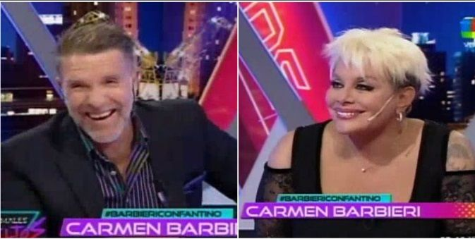 Carmen Barbieri confesó que robaba juguetes para Fede Bal ¡y Fantino se sumó! Yo afané latas de atún