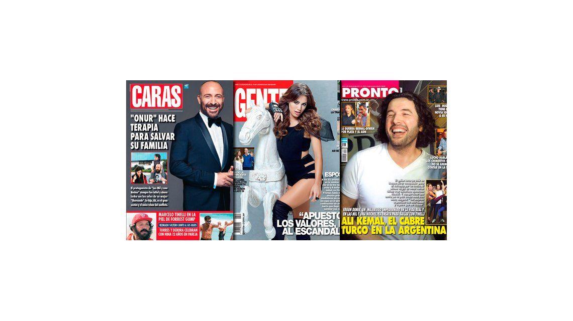 Tapas de revistas: Lali Espósito, sexy y exitosa, y los turcos copan las portadas