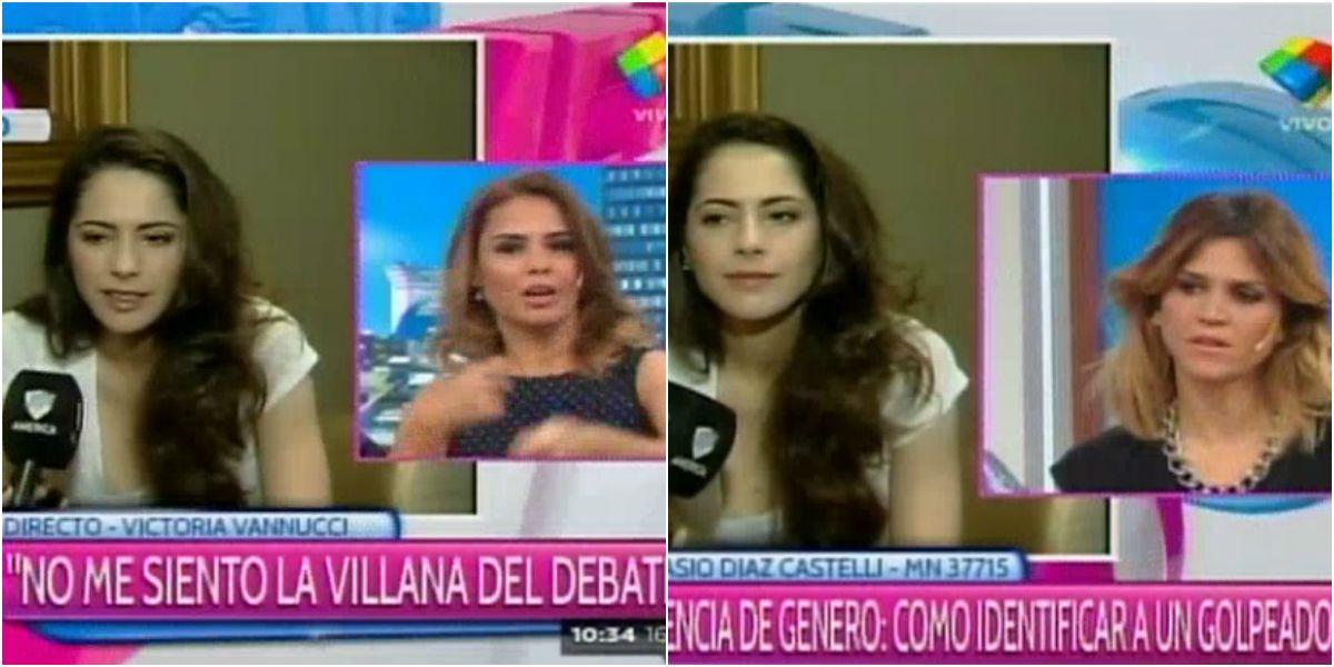 Tras su cruce con Sofía Gala, Victoria Vannucci se mató con Marina Calabró y María Freytes