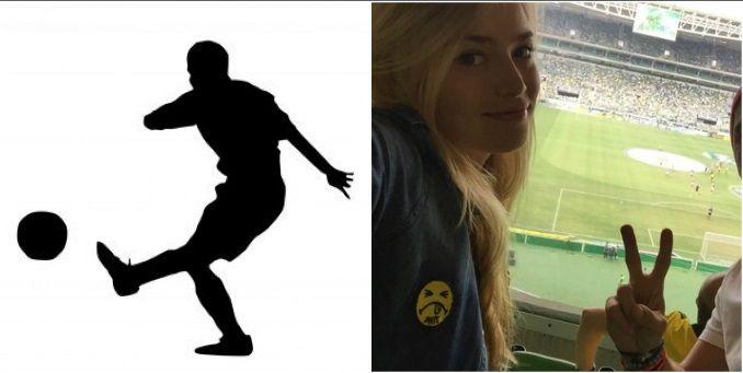 El futbolista, ex novio de dos modelos, que será padre de un varón