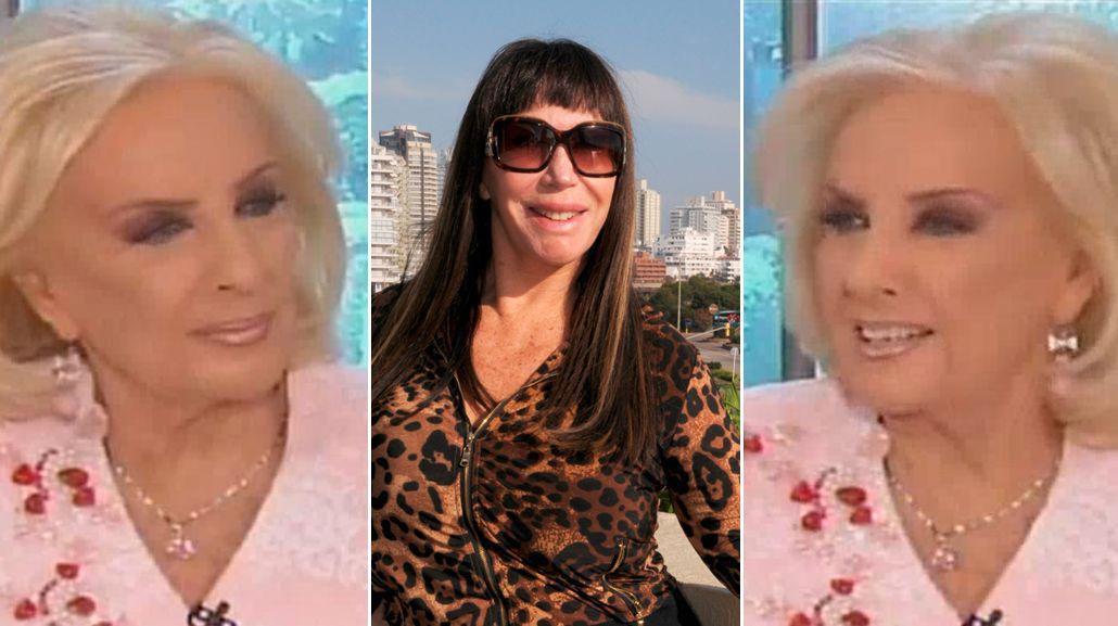 El palito de Mirtha Legrand a Moria Casán en vivo: A veces no ha sido muy amorosa