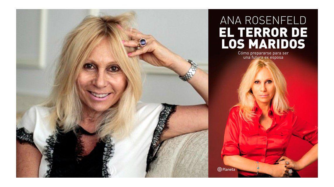 Ana Rosenfeld firmará su libro El terror de los maridos en la Feria del Libro