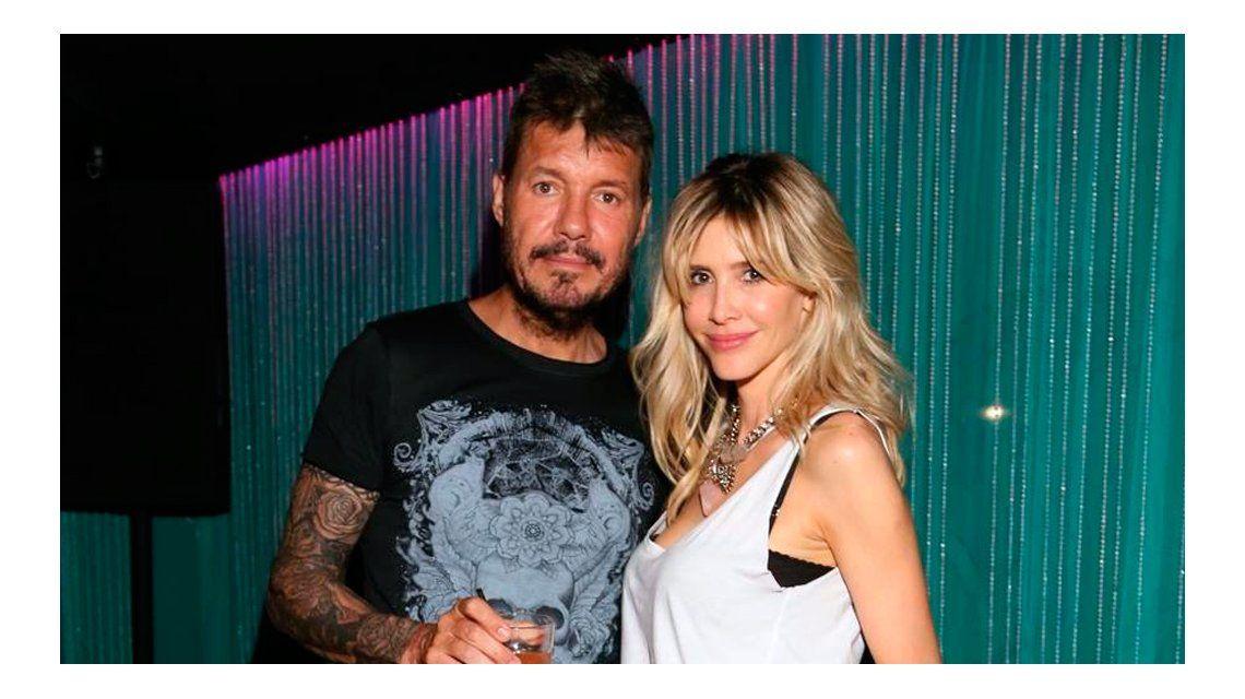 Marcelo Tinelli y Guillermina Valdes