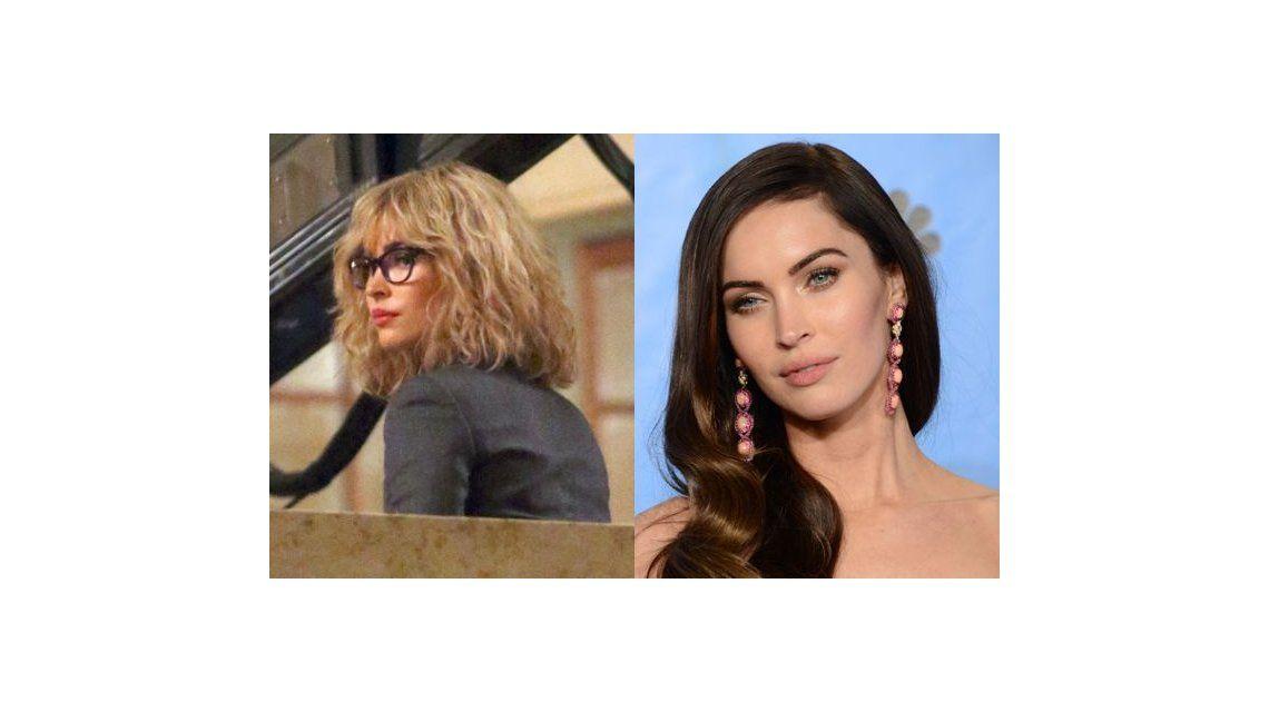 El increíble de cambio de look de Megan Fox para una película