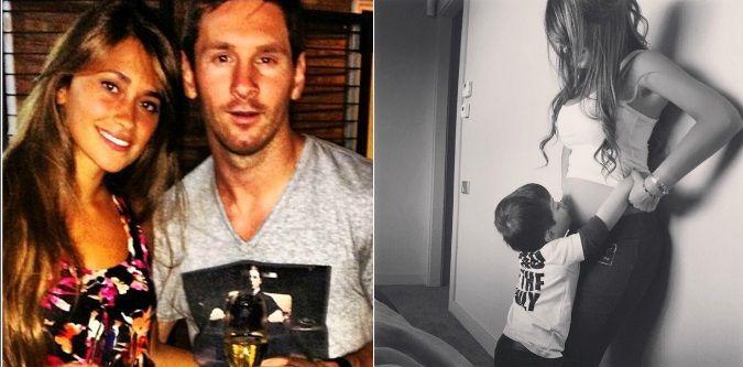 Leo Messi confirmó el embarazo de Antonella Roccuzzo: Esperándote con muchas ganas