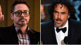 La frase racista de Robert Downey Jr. contra Iñárritu