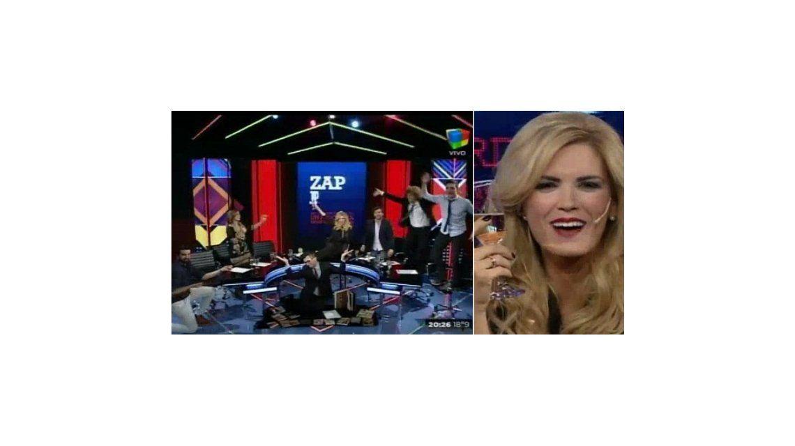 Viviana Canosa cerró Zapping con un pase al aire con Pamela David, quién hará el debate de Gran Hermano