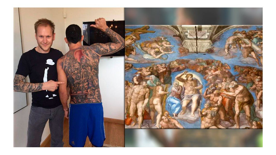 La historia detrás del tatuaje de Carlitos Tevez