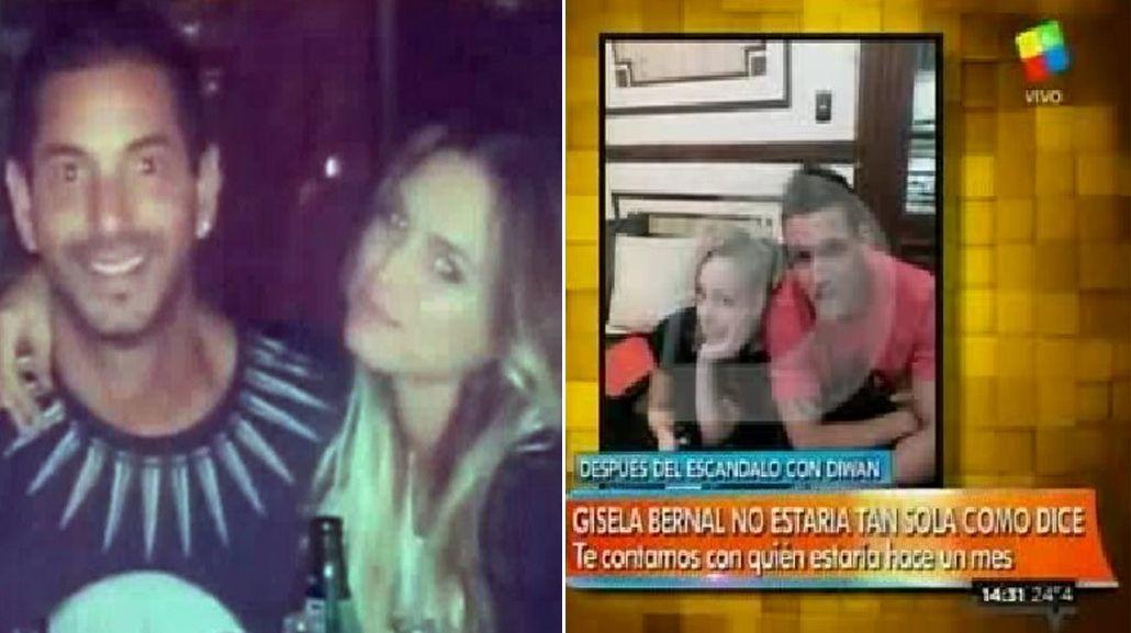 Mientras Diwan confirma su romance con una ex Chiquititas, Gisela Bernal se muestra con un supuesto novio