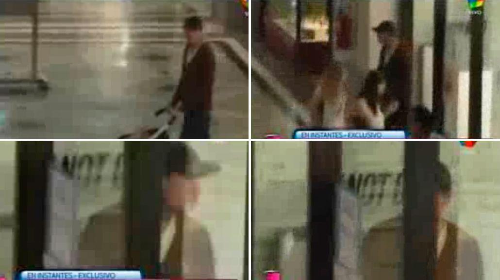 El paseo de Marcelo Tinelli con Lolo y Juanita en un shopping porteño