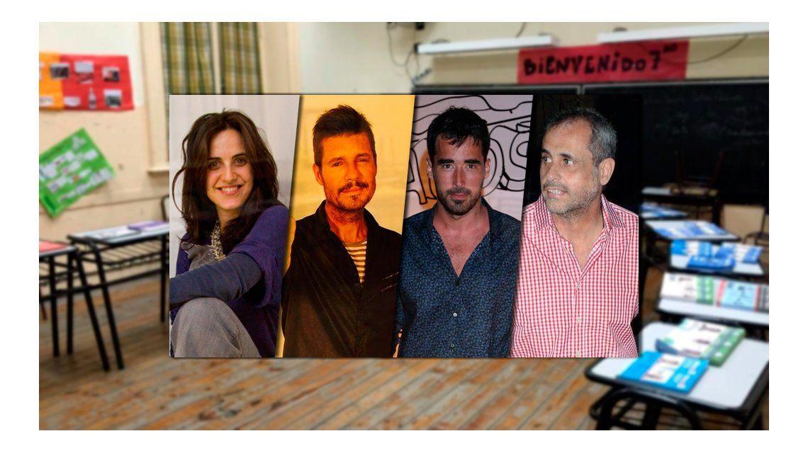 Los famosos votaron en la Ciudad: fotos y comentarios en Twitter