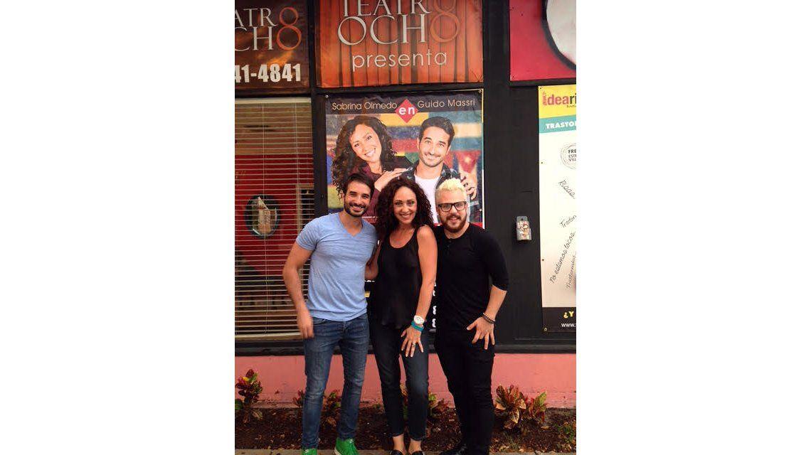 Sabrina Olmedo, Guido Massri y Kevin Cass triunfan en Miami