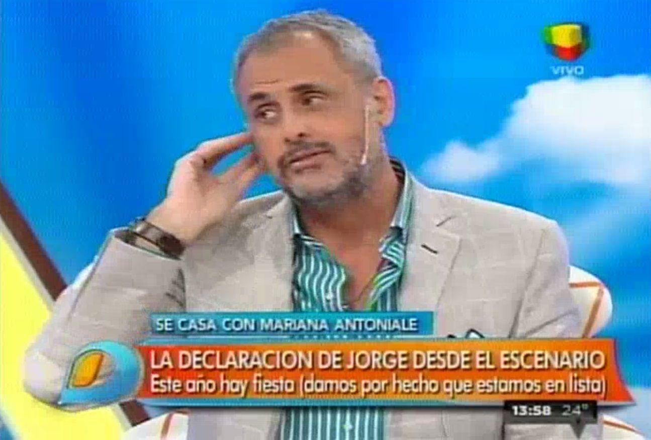 Jorge Rial sobre Loly Antoniale: Si puedo, me caso este año